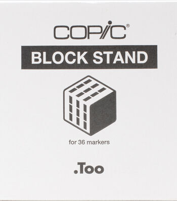 Copic Marker Block Stand - Empty-Holds All Copic Markers