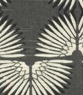 Genevieve Gorder Multi-Purpose Decor Fabric 54\u0027\u0027-Urban Caterpillar on Onyx