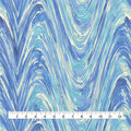 Upholstery Fabric 13x13\u0022 Swatch-Current Ocean