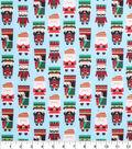 Holiday Cotton Fabric -Nutcracker Men