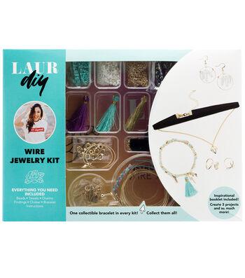 LaurDIY Wire DIY Jewelry Kit