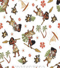 Disney Moana Cotton Fabric 43\u0027\u0027-Toss