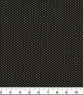 Harvest Cotton Fabric-Dots on Black