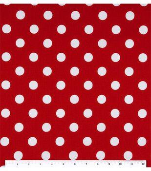 Keepsake Calico Cotton Fabric -Large Dots On Lipstick
