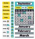 Aqua Oasis: Calendar Bulletin Board Set