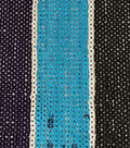 Casa Dahlia Packed Sequin Fabric-Thick Stripe