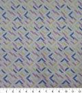 Quilter\u0027s Showcase Cotton Fabric-Broken Squares Lavender