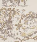 Christmas Cotton Fabric 45\u0022-Metallic Toile De Noel