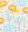 Blizzard Fleece Fabric 59\u0022-Wild One