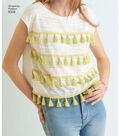 Simplicity Pattern 8336 Misses\u0027 Knit Tops-Size A (XXS-XS-S-M-L-XL-XXL)