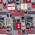 Anti-Pill Plush Fleece Fabric-Game On