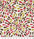 Robert Allen @ Home Print Swatch 55\u0022-Many Petals Poppy