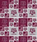 Texas A&M University Aggies Cotton Fabric 43\u0027\u0027-Block