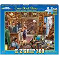 White Mountain Puzzles 300 Pieces 24\u0027\u0027x30\u0027\u0027 Jigsaw Puzzle-Cozy Book Shop