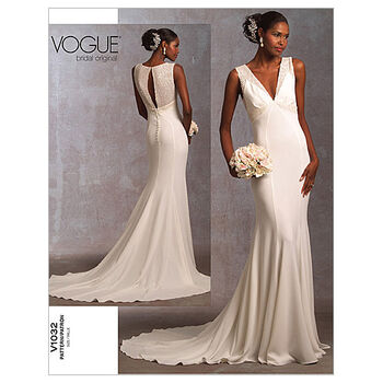 Vogue Patterns Misses Bridal-V1032