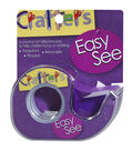 Crafter\u0027s Easy See Removable Craft Tape .5\u0022X720\u0022-Purple