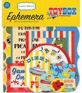 Carta Bella Ephemera Cardstock Die Cut Pieces-Toy Box