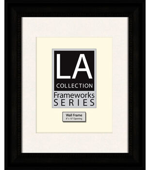 LA Collection Frameworks Series Wall Frame 11''x14''-Black