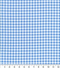 Keepsake Calico Cotton Fabric-Check Light Blue