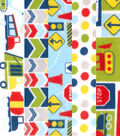Fat Quarter Bundle Cotton Flannel Fabric 18\u0027\u0027-Construction