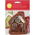Wilton Christmas Comfort-Grip Gingerbread House Cookie Cutter