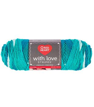 Red Heart with Love Yarn-Stripes