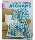 Leisure Arts Graphic Pattern Afghans Crochet Book