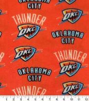 Oklahoma City Thunder Fleece Fabric-Allover, , hi-res