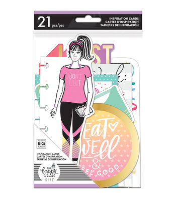 The Happy Planner Girl Inspiration Cards-Healthy Hero