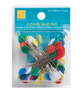 EZ Quilting Flower Head Pins Size 32-75 Count Multipack of 12
