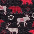 Super Fleece Fabric -Aspen Animals