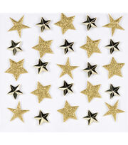 Jolee's Boutique Repeat Stickers-Gold Stars, , hi-res