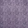 Keepsake Calico Cotton Fabric-Purple Floral Outlines