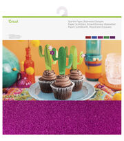 Cricut 10 Pack 12''x12'' Sparkle Paper Samplers-Bejeweled, , hi-res