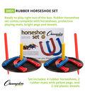Rubber Horseshoe Set