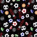 Novelty Cotton Fabric -Soccer Ball