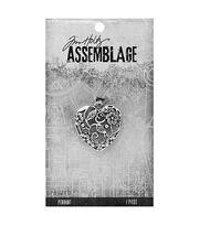 Tim Holtz Assemblage Ornate Heart Pendant, , hi-res