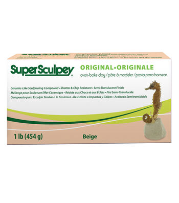 Super Sculpey Ceramic-Like Sculpturing Compound-1 lb.