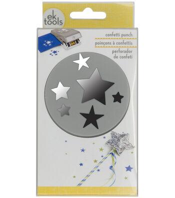 EK Tools Large Punch-Confetti Stars