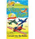 Creativity for Kids Kit-4 Foam Fliers