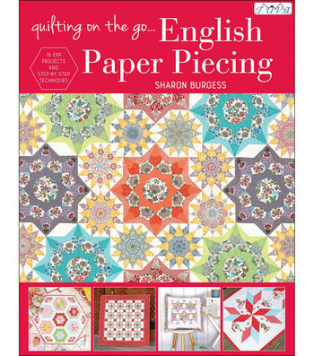 Tuva Publishing-Quilt On The Go: English Paper Piecing