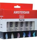 Amsterdam 20ml Standard Acrylic Paint Set 6/Pkg-Pearl