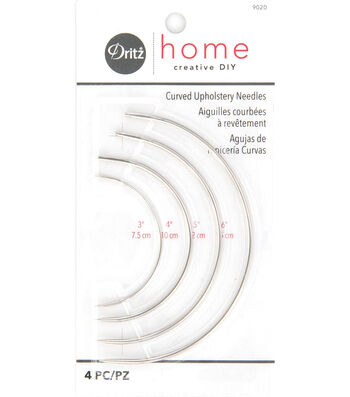 Dritz Home Curved Upholstery Needles 4pcs