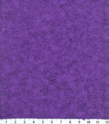 Keepsake Calico Cotton Fabric -Purple Vines