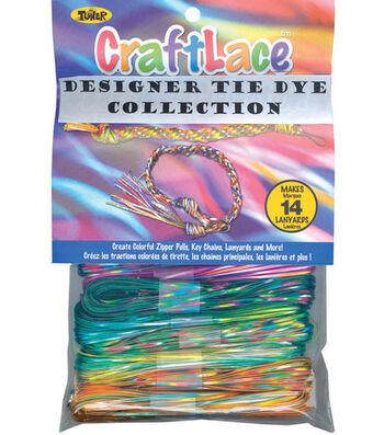 300' Craft Lace-12PK/Tie Dye
