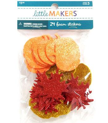 Little Maker's Glitter Stickers-Harvest