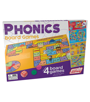 Junior Learning Phonics Board Games