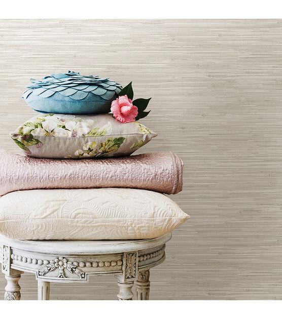 Wallpops Nuwallpaper Peel Stick Wallpaper Cream Grassweave Joann