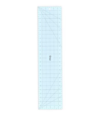 """Cricut 6""""x26"""" Acrylic Ruler-Blue"""