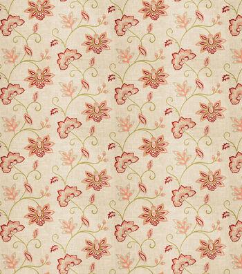 "Eaton Square Lightweight Decor Fabric 53""-Finale/Coral"